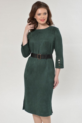 Платье Faufilure outlet С890 зеленый