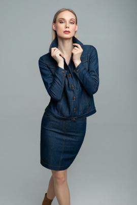 Юбка MARIKA 401/2 темно-синий
