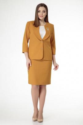 Женский костюм ELITE MODA 4244/3483 горчица