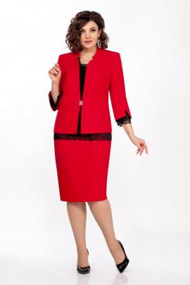 Блуза, Юбка, Жакет LaKona 1338-1 красный