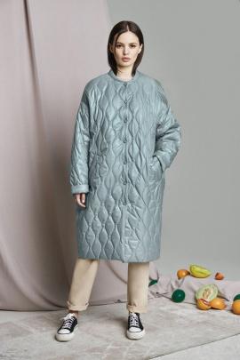 Пальто ELLETTO LIFE 3460 зеленый