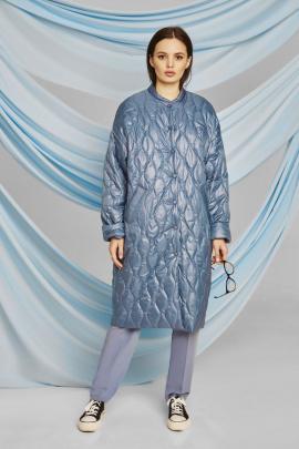 Пальто ELLETTO LIFE 3460 синий