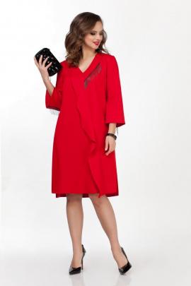 Платье TEZA 1836 красный