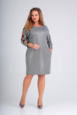 Платье SVT-fashion 551 серый