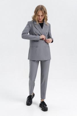 Женский костюм PiRS 1331 светло-серый