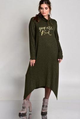 Платье Faufilure outlet С682 олива