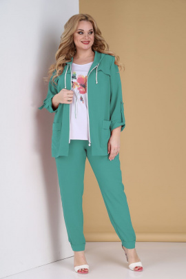 Женский костюм Tensi 305 бирюзовый
