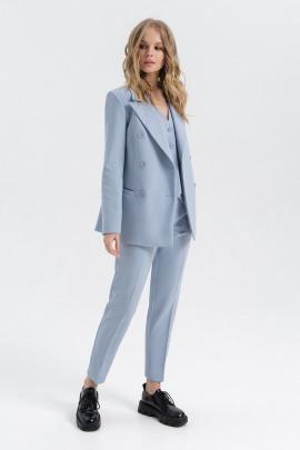 Женский костюм PiRS 2777 светло-голубой