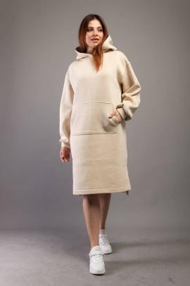 Платье Almila-Lux 1071 песочный