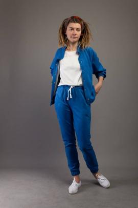 Брюки, Рубашка Almila-Lux 1074 сине-голубой