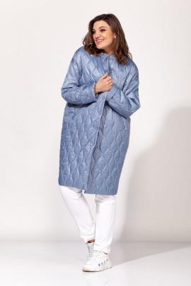 Пальто ELLETTO 3460 синий