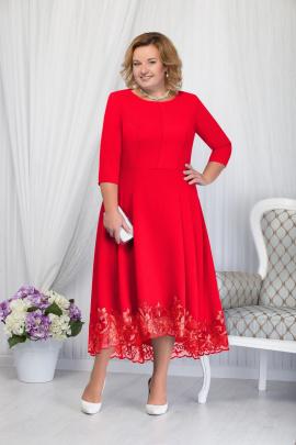 Платье Ninele 5660 красный