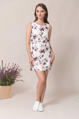 Платье Ружана 443-2 фиолетка