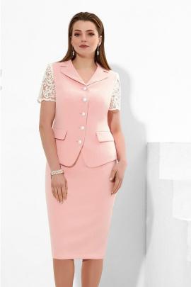 Женский костюм Lissana 4257 розовый_нюд