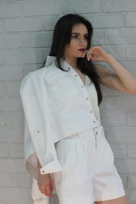 Куртка Lady Smile 02к белый