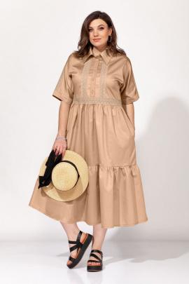 Платье ELLETTO 1820 бежевый
