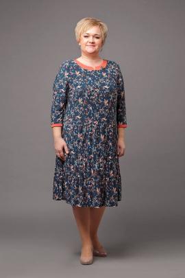 Платье Соджи 445 мультиколор