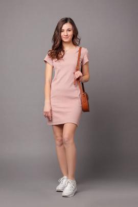 Платье Соджи 482 пудровый