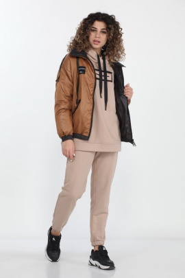 Куртка DOGGI 6308 сиена