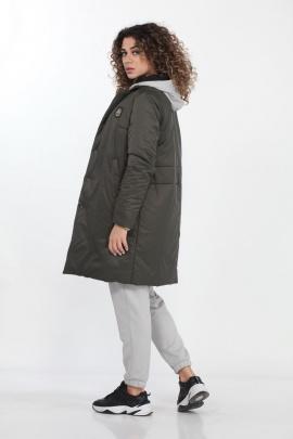 Пальто DOGGI 6287 хаки