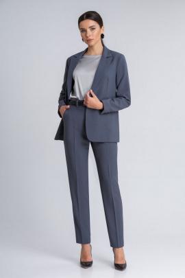 Женский костюм IVARI 10403 графит
