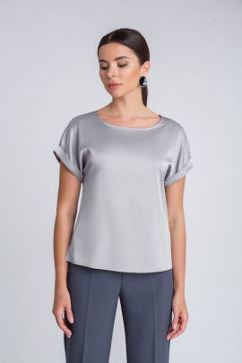 Блуза IVARI 402 серебро