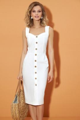Платье DiLiaFashion 0480 белый