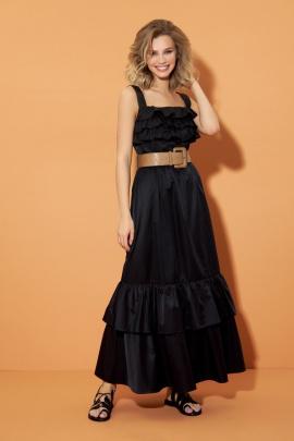Платье DiLiaFashion 0483 черный