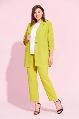 Женский костюм Милора-стиль 883 лимон