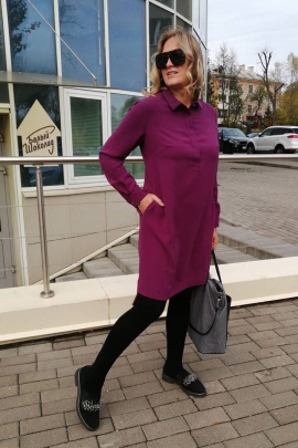 Платье FS 5030 фуксия