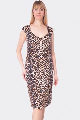 Платье Купалинка 571605.170-176 леопард