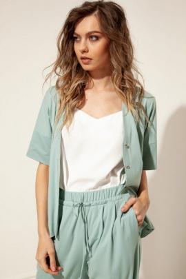 Блуза Nova Line 20422 мятный