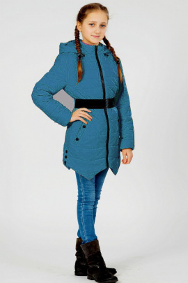Пальто Lona 7412И бирюза
