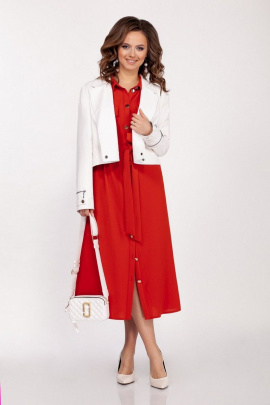Куртка Dilana VIP 1678 белый