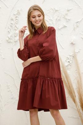 Платье Lokka 758 бордо