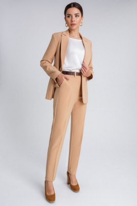 Женский костюм IVARI 10403 песочный