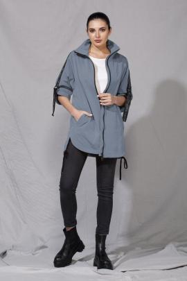 Куртка ALEZA 1005 серо-голубой
