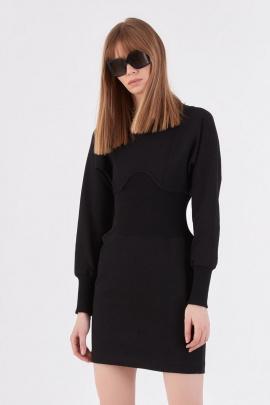 Платье Lakbi 52122 черный