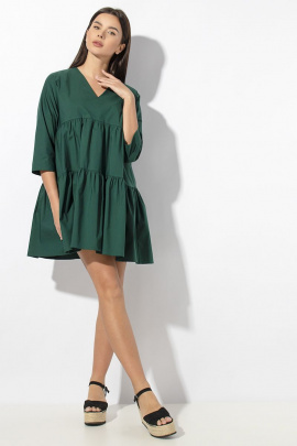 Платье VIZAVI 636 изумруд