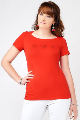 Накидка La rouge 3067 красный