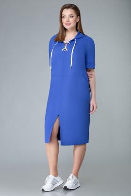 Платье Арита-Denissa 1343 синий