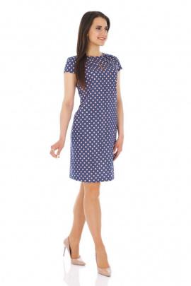 Платье Almila-Lux 1001 сине-розовый
