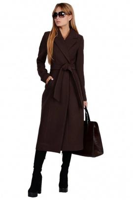 Пальто PATRICIA by La Cafe NY14825 коричневый,черный