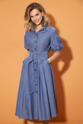 Платье DiLiaFashion 0489 джинс