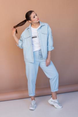 Комплект Angelina 649 голубой