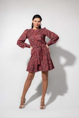 Платье YFS 6147 красный