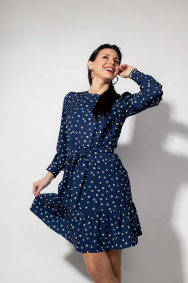 Платье YFS 6147 синий