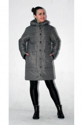 Пальто Arisha 8084 серый
