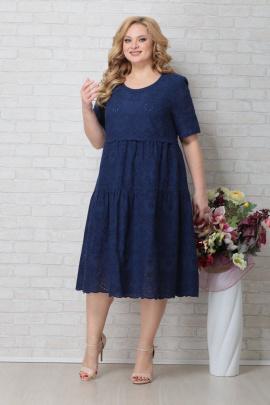 Платье Aira Style 794 темно-синий