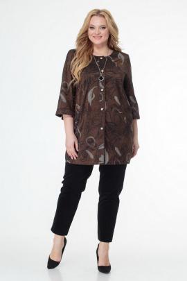 Жакет БелЭльСтиль 756 коричневый
